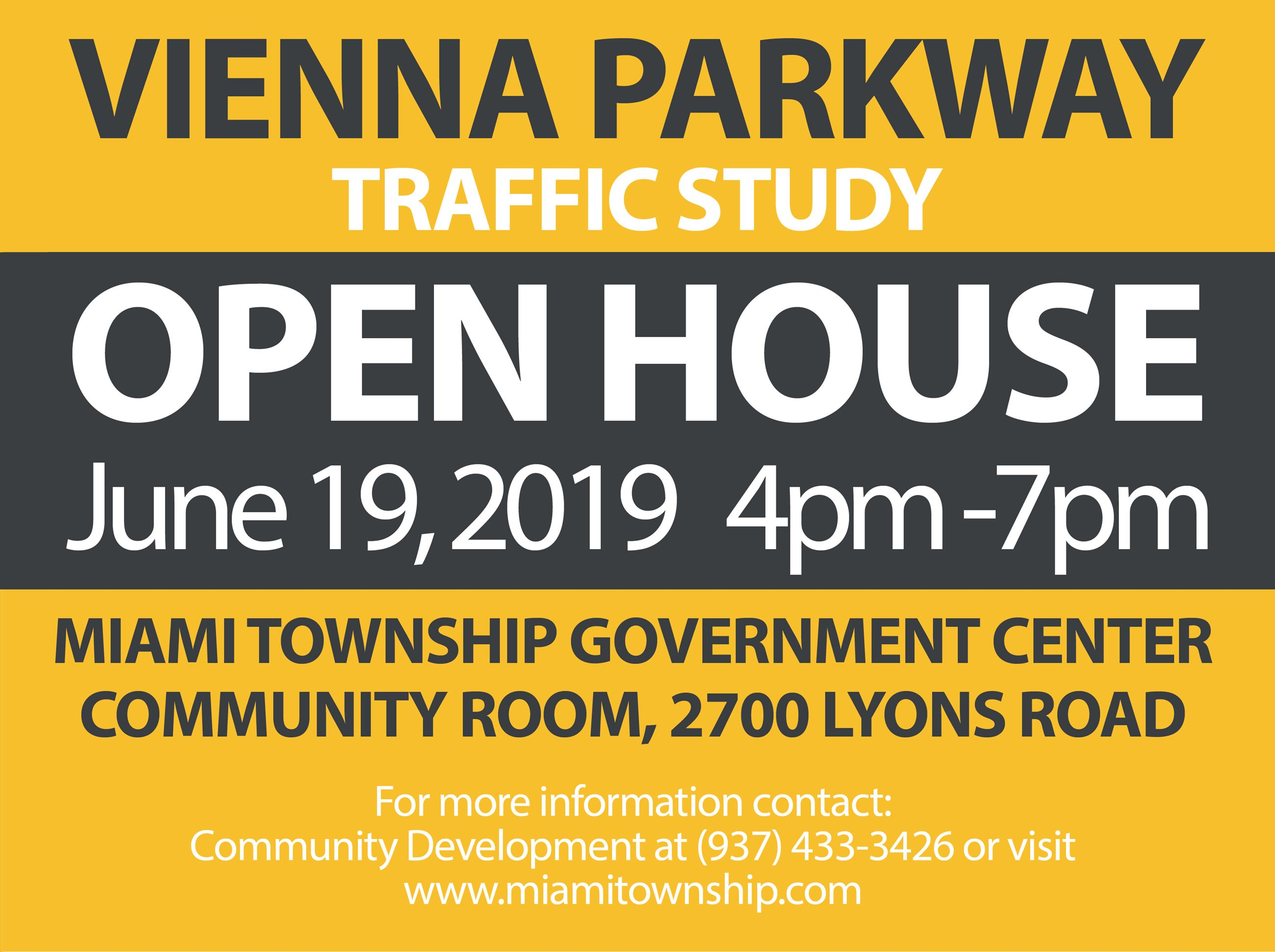 Vienna Parkway Open House