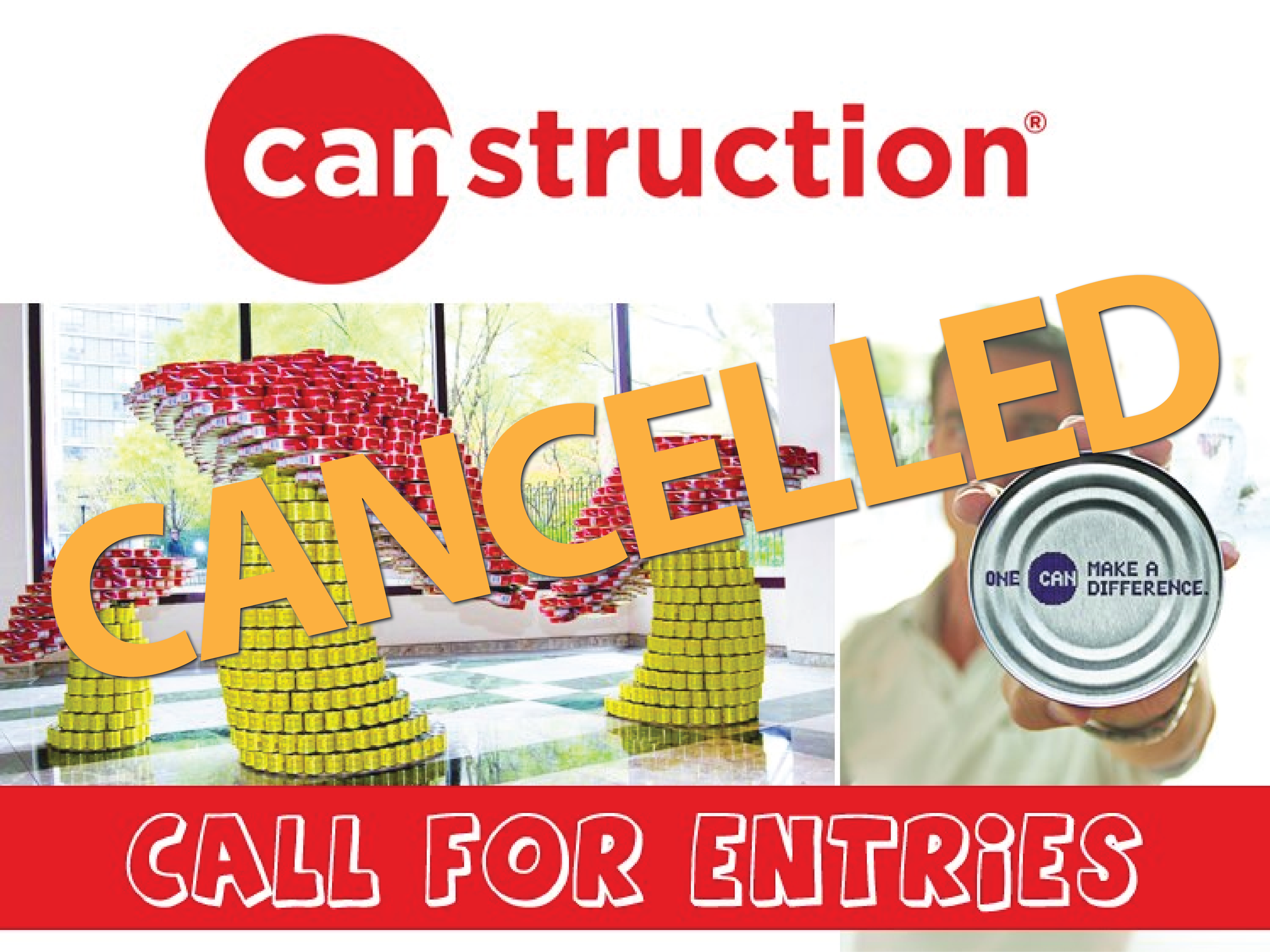 Canstruction 2020 Canceled