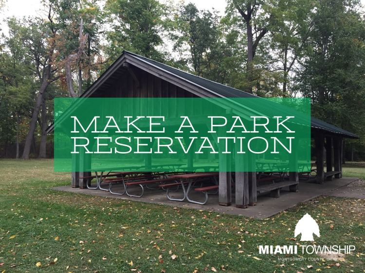 Park reservations 2021