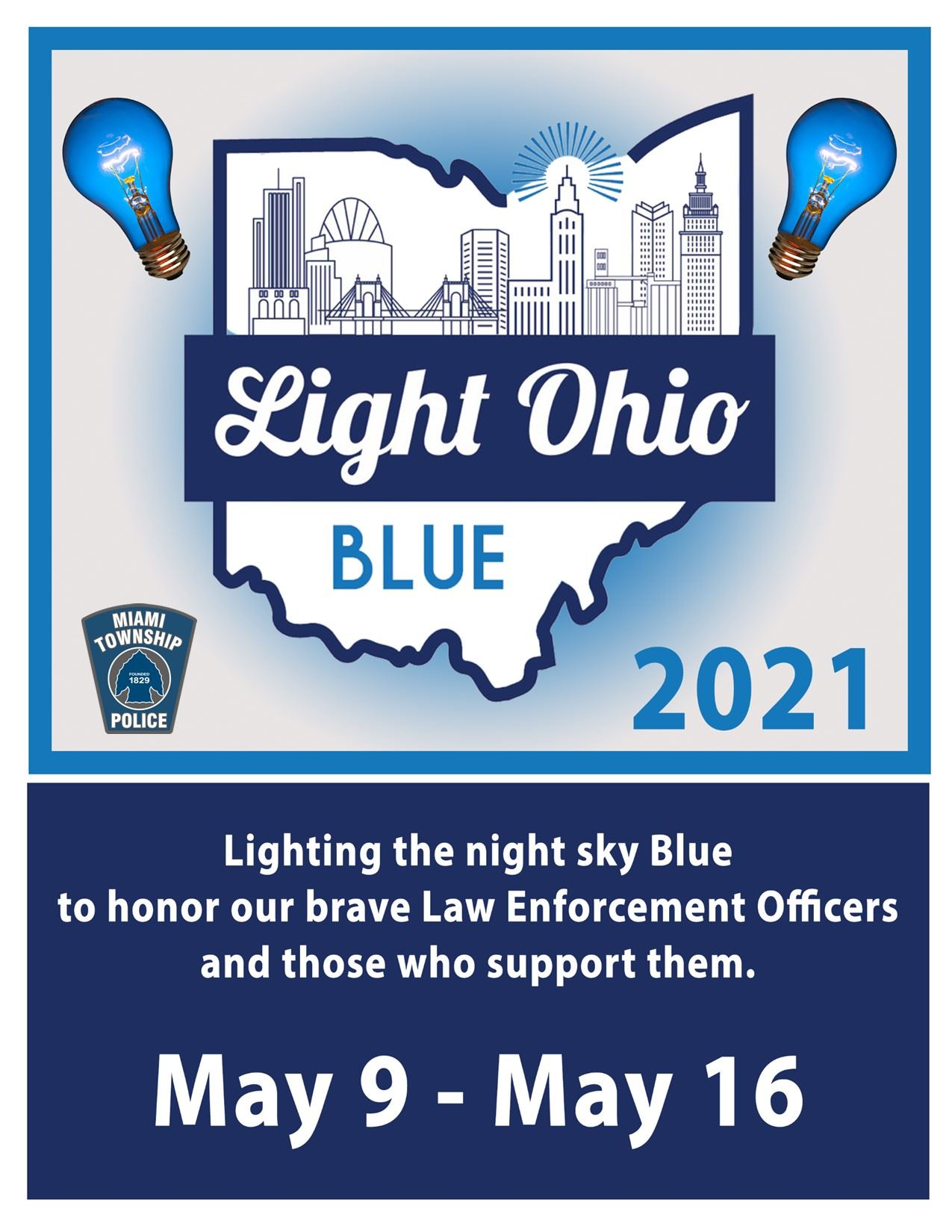 Light Ohio Blue with PD logo 2021